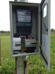Подключение электричество на участок