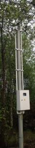 стойка установлена в Одинцовском районе